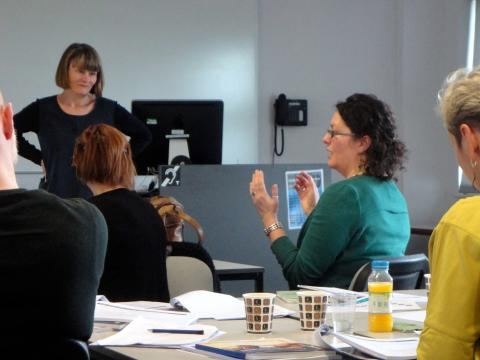 """ADESTE """"Training for Trainers"""" meeting in London 2015"""